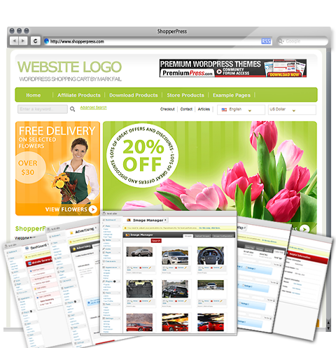 Wordpress Shopping Cart - ShopperPress - 10,000+ users
